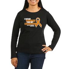 Leukemia: Orange For Grandson T-Shirt