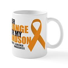 Leukemia: Orange For Grandson Mug