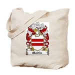 Martin Family Crest Tote Bag