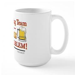 Drinking Team Large Mug