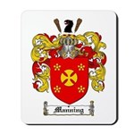Manning Family Crest Mousepad