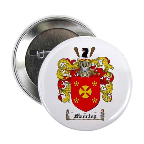"""Manning Family Crest 2.25"""" Button (100 pack)"""