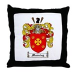 Manning Family Crest Throw Pillow