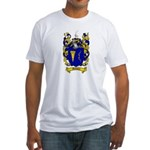 Maloney Family Crest Fitted T-Shirt
