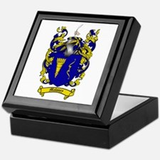 Maloney Family Crest Keepsake Box