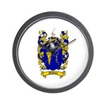 Maloney Family Crest Wall Clock