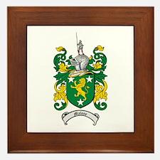 Malone Family Crest Framed Tile