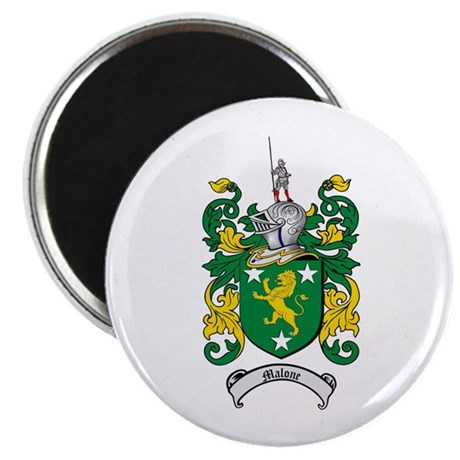 """Malone Family Crest 2.25"""" Magnet (10 pack)"""