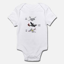 Fighter Jets Infant Bodysuit