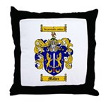Maher Family Crest Throw Pillow