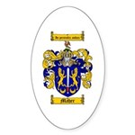 Maher Family Crest Oval Sticker