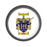 Maher Family Crest Wall Clock