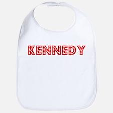 Retro Kennedy (Red) Bib