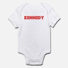 Retro Kennedy (Red) Infant Bodysuit