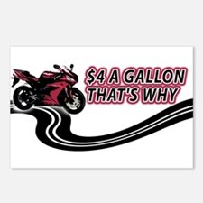 $4 Gallon... That's Why Postcards (Package of 8)