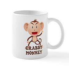 Crabby Monkey Small Mug