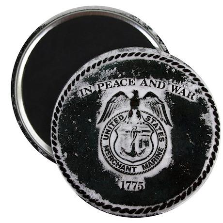 "Merchant Marines 2.25"" Magnet (100 pack)"