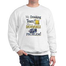 New Snowmobile Drinking Team Sweatshirt
