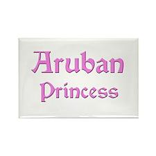 Aruban Princess Rectangle Magnet