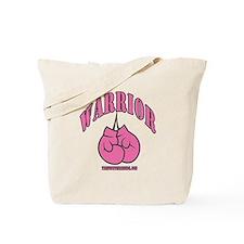 WARRIOR PINK GLOVES Tote Bag
