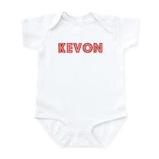 Retro Kevon (Red) Infant Bodysuit