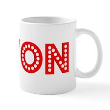 Retro Kevon (Red) Small Small Mug