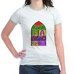 God Is A Myth Jr Ringer T-Shirt