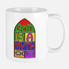 God Is A Myth Small 11oz Mug