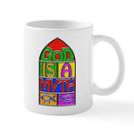 God Is A Myth Small 11oz Mug