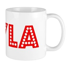 Retro Keyla (Red) Mug