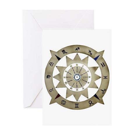 zodiac sign Greeting Card