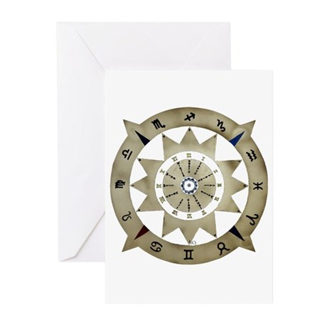 zodiac sign Greeting Cards (Pk of 10)