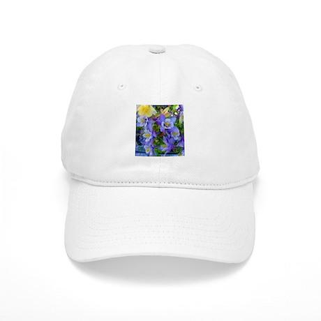 Columbine Flowers Cap