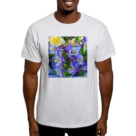 Columbine Flowers Light T-Shirt