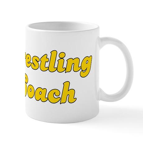 Retro Wrestling C.. (Gold) Mug