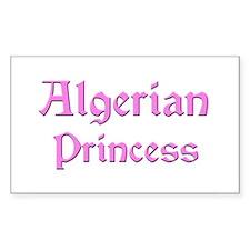 Algerian Princess Rectangle Decal