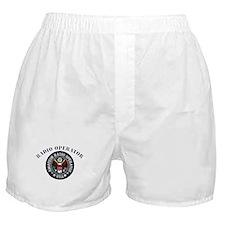 Radio Operator Boxer Shorts