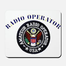Radio Operator Mousepad