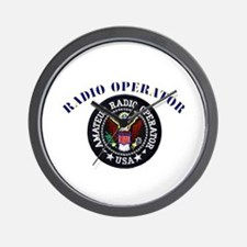 Radio Operator Wall Clock