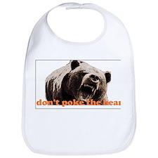 Don't poke the bear Bib