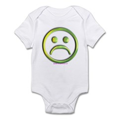 Sad Face Infant Bodysuit