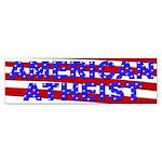 American Atheist Bumper Sticker