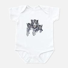 White Tiger Infant Bodysuit