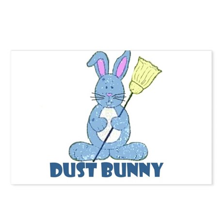 Dust Bunny Postcards (Package of 8)