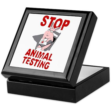 Stop Animal Testing Keepsake Box