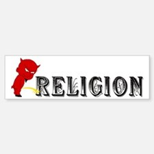 Piss On Religion Bumper Bumper Bumper Sticker