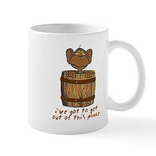 Monkey in a Barrel Mug