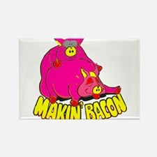 Makin' Bacon Rectangle Magnet (10 pack)