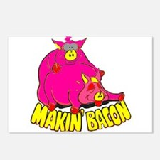 Makin' Bacon Postcards (Package of 8)