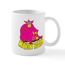 Makin' Bacon Small Mugs